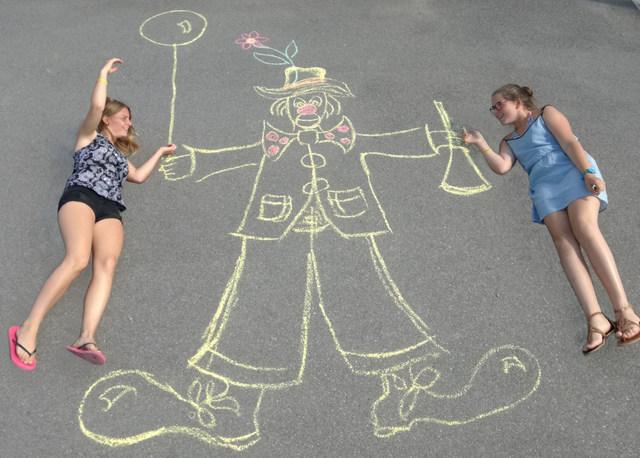Dessin A La Craie craie - les activités et animations du camping** et camping parc